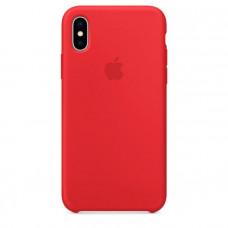 Чехол для iPhone Apple iPhone X Silicone Case RED